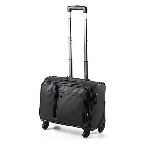 キャリーバッグ(ビジネス・機内持ち込み・横型・4輪・耐水・止水ファスナー使用・22リットル)