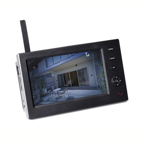 【割引クーポン配布中~4/16 01:59まで】防犯カメラ用ワイヤレスモニター(EZ4-CAM035/055専用・バッテリー搭載/充電式・7インチ・SD/USBメモリー接続対応) EZ4-CAM055DSP