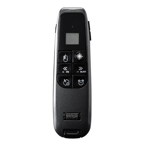 プレゼンテーションマウス(PSC認証・ジャイロ・グリーンレーザー・空中操作・タイマー付き) EZ4-MA080