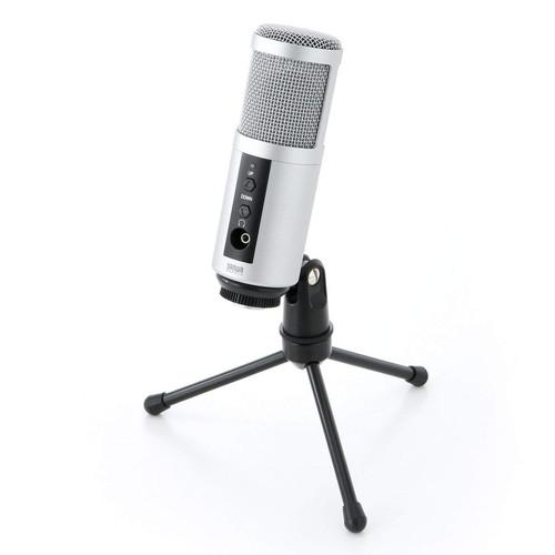 USBスタンドマイク 単一指向性 コンデンサータイプ 高音質 400-MC002
