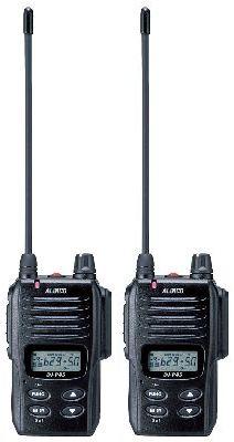 【ポイント10倍】DJ-P45 ×2台セットアルインコ インカム業務に最適!同時通話/交互通話の切替が可能