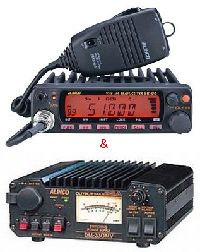DR-06HX&DM-330MVアルインコ 50MHz FMモービル ハイパワーと スイッチング電源のお買い得セット