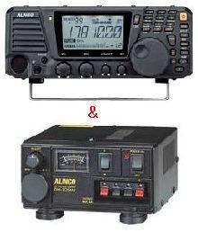 DX-R8&DM-305MVアルインコ 卓上受信機&電源