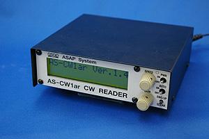 AS-CW1ar (ASCW1ar)アサップシステム モールス解読器