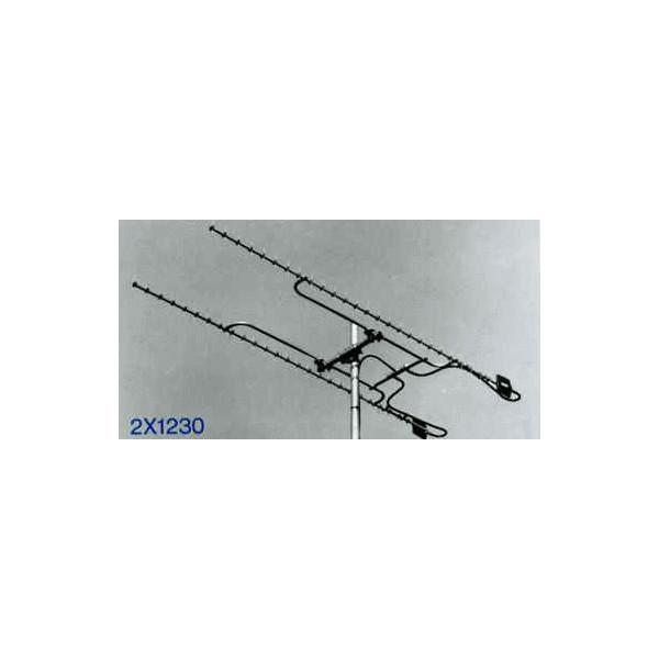 【代引・他の商品同梱発送不可】クリエート 2×1230アマチュア無線 1200MHzスタックアンテナ