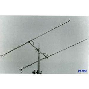 【代引・他の商品同梱発送不可】クリエート 2×720アマチュア無線 八木アンテナ