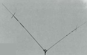 【代引・後払い・時間指定・他の商品同梱発送不可】クリエート 730V-2Aアマチュア無線V型ダイポールアンテナ