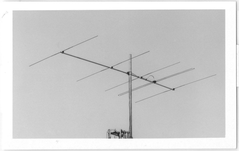 【代引・後払い・時間指定・他の商品同梱発送不可】クリエートデザイン CL6Aアマチュア無線 50MHz帯5エレメント 八木アンテナ