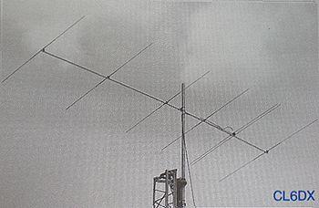 【代引・後払い・時間指定・他の商品同梱発送不可】クリエート CL6DXアマチュア無線 50MHz6エレ八木アンテナ