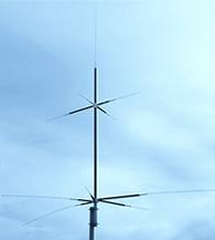 【ご予約・ポイント5倍】CPVU8 (CP-VU8)第一電波工業(ダイヤモンド)オールバンド(3.5~430MHz帯)アマチュア無線 GPアンテナ