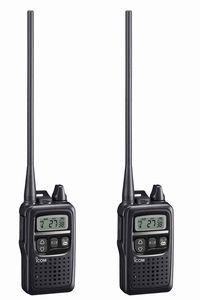 【沖縄県への発送不可】アイコムIC-4300L(IC4300L)ロングアンテナタイプ特定小電力トランシーバーインカム 2台セット