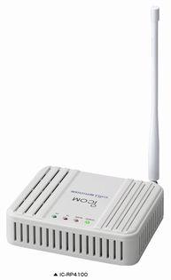 アイコム IC-RP4100特小中継器27ch搭載IC-4110D,IC-4188D,IC-4300用