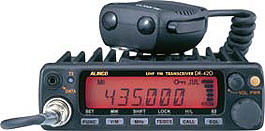 【ポイント5倍】DR-420DX(DR420DX)アルインコ アマチュア無線機<BR>430MHz 20Wモービル機