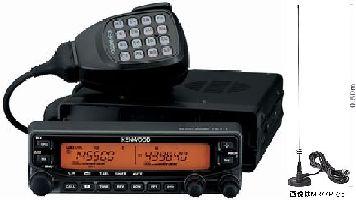 TM-V71&M24M(マグネットアンテナ)ケンウッド 144/430MHz帯 20Wアマチュア無線 モービル機