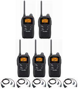 【ポイント5倍】UTB-10(UTB10)&EMC-3 ×5台ケンウッド イヤホンマイク特価セットインカム トランシーバーUBZ-LM20,UBZ-LP20廉価版