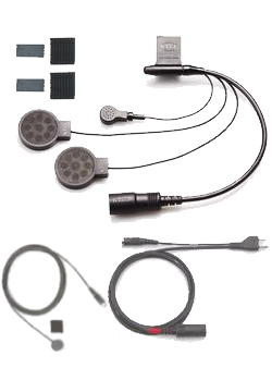 KTM-139S (KTM139S)KTEL(ケテル)スーバータッチJr-F 2スピーカーSET ステレオフルフェイス用ヘッドセット)アルインコ/ヤエス/スタンダード/アイコム無線機用