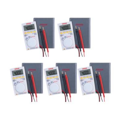PM3 (PM-3)×5台セット三和電気計器(sanwa)デジタルマルチメーター薄型ポケットテスター