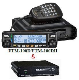 FTM-100D&HRI-200八重洲無線(スタンダード)アマチュア無線機&WIRES-X用インターフェース