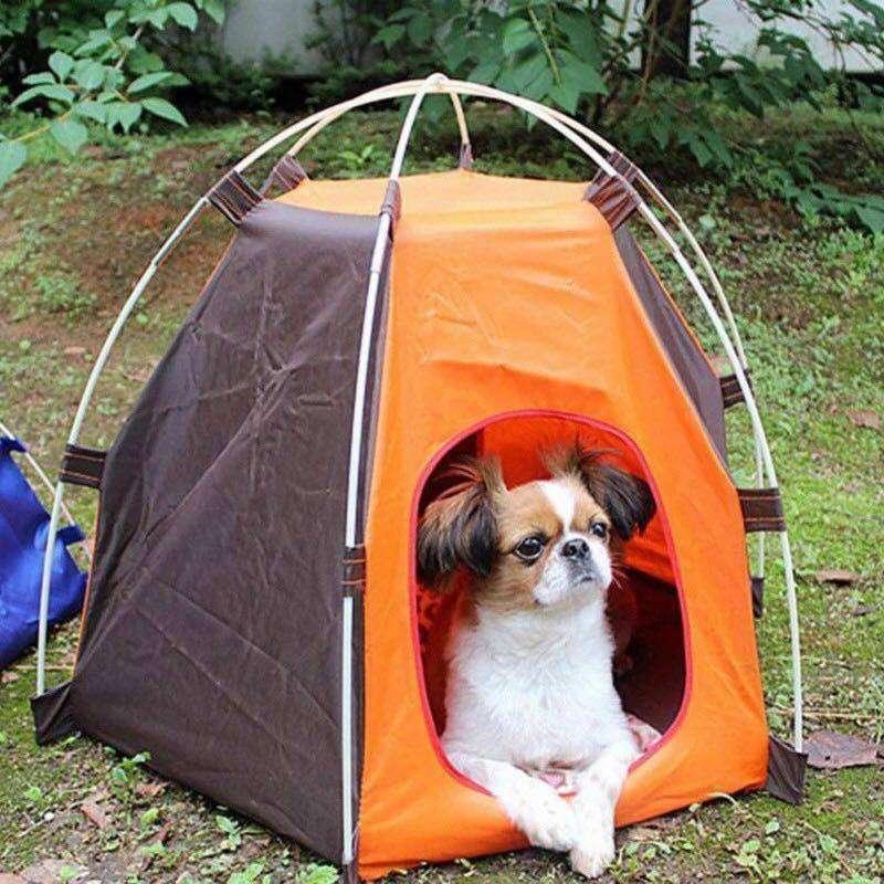 ペット用テント 屋外キャンプ 数量限定 軽量 持ち運び便利な折りたたみ式 ☆ 愛猫も安心してキャンプへ プレゼント 愛犬