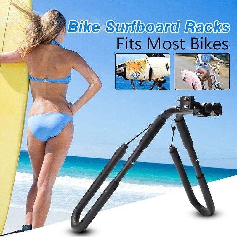大人気 バイク 自転車 サーフボードキャリア サーフボードラック 新商品 ポストホルダー
