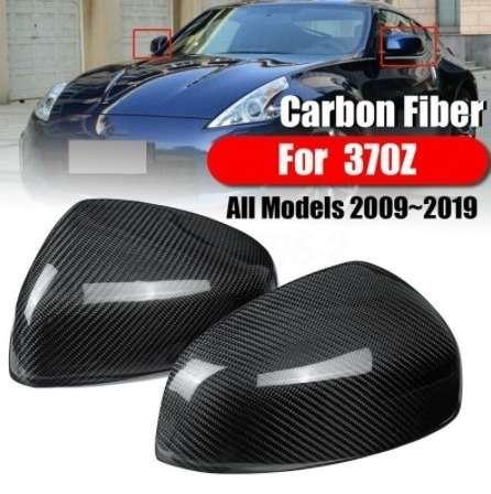 Z34 フェアレディZ カーボン 限定モデル ミラー カバー 2009-19y インフィニティ スポイラー 通販 エアロ カスタム 370Z 左右セット
