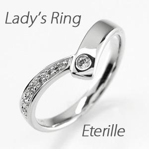 【10%OFF】リング プラチナ ダイヤモンド 指輪 レディース V字 Vライン プラチナ マリッジリング プラチナ ダイヤモンド 指輪 結婚指輪
