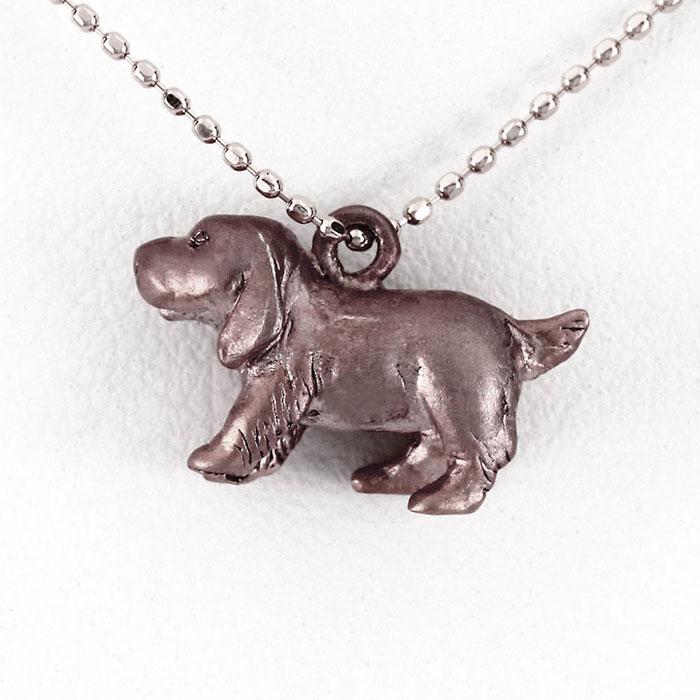 【10%OFF】ダイヤモンド ネックレス 18k ペンダント レディース 犬 いぬ ドッグ ビーグル アニマル 無垢 地金 ゴールド k18 18金