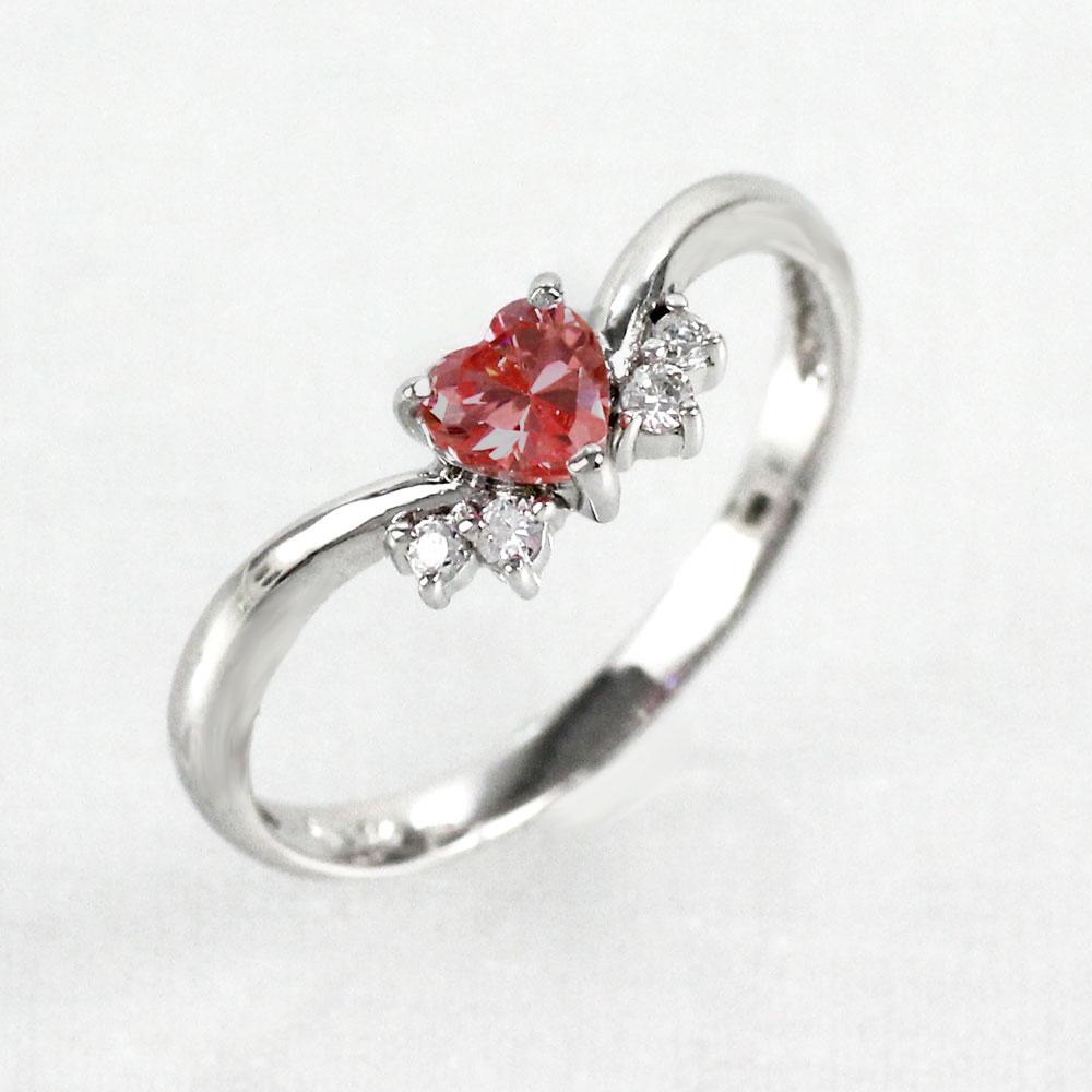 【10%OFF】ガーネット リング カラーストーン ハートシェイプ ハート ダイヤモンド 指輪 誕生石 レディース 一粒 ゴールド k10 10k 10金