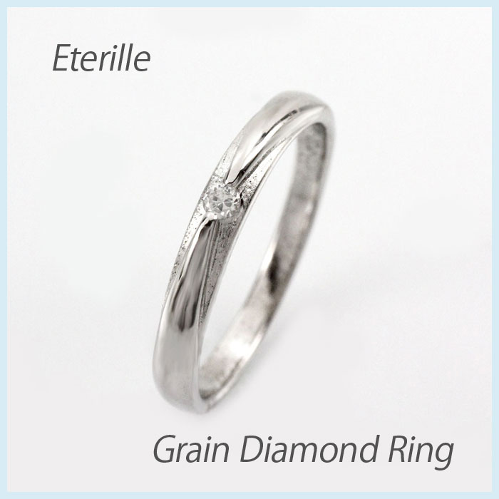 【10%OFF】ダイヤ リング 一粒 ダイヤモンド 指輪 レディース シンプル ツヤ消し ゴールド k18 18k 18金