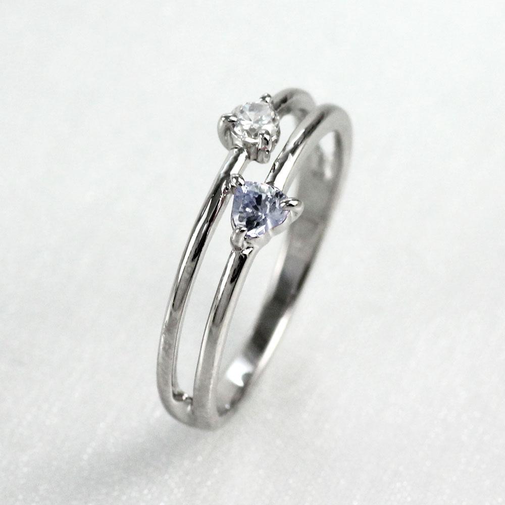【10%OFF】ハート リング ムーンストーン ダイヤモンド カラーストーン プラチナ ハートシェイプ 指輪 誕生石 レディース 一粒 pt900