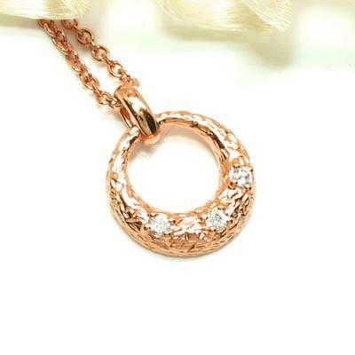 【500円OFFクーポン】ダイヤモンド ネックレス 18k ペンダント レディース ムーン 月型 ゴールド k18 18金