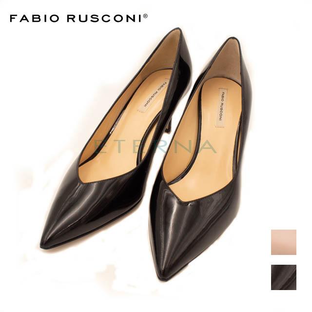 Fabio Rusconi ファビオルスコーニ 靴 パンプス レディース ハイヒール イタリア インポート bango ブラック ピンク ポインテッドトゥ