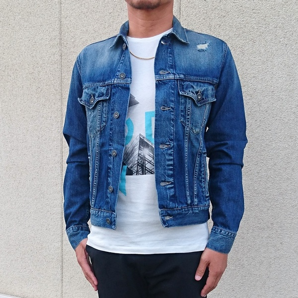 efb03a90c7ab Pepe Jeans LONDON/ ぺぺ jeans London /PINNER denim jacket /INDIGO/ new work  ...