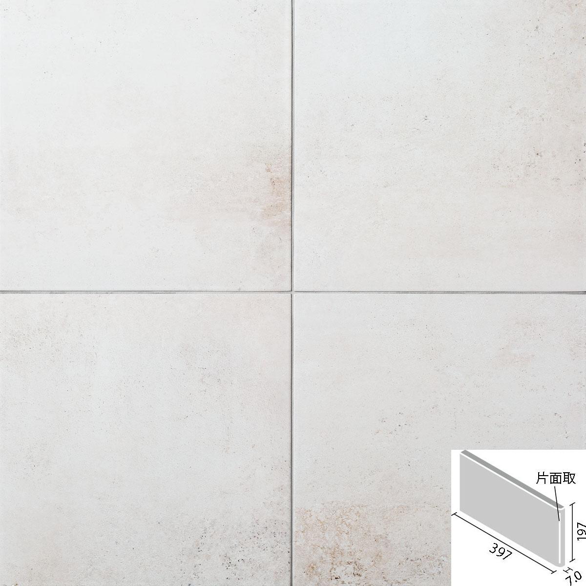 LIXIL(INAX) ビターメタル 400x200mm角片面取(短辺) ID-4260/BMA-1(R)