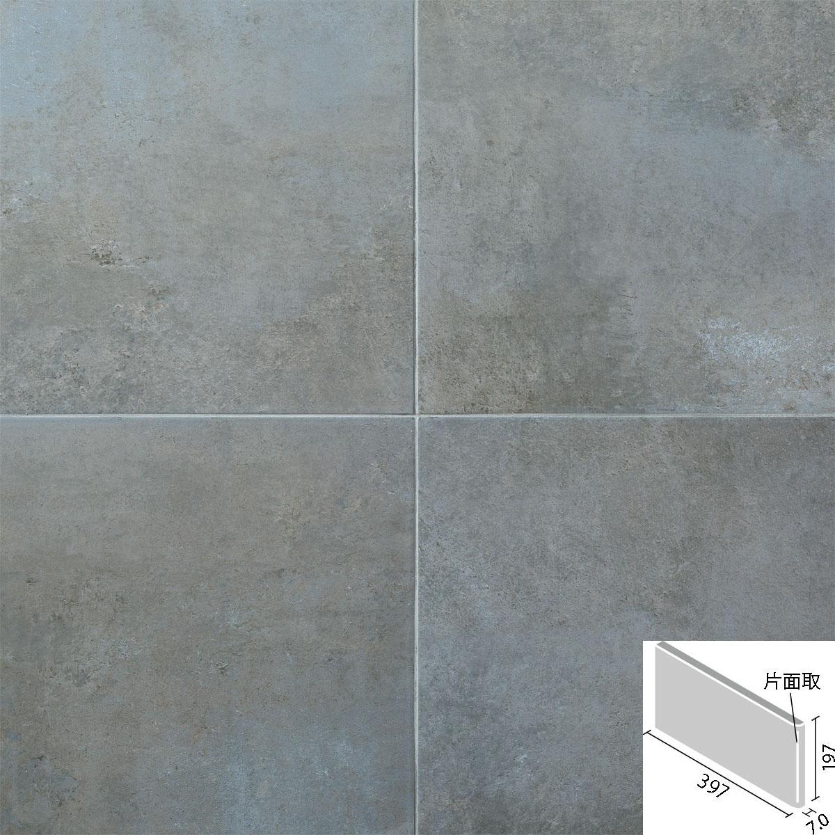 LIXIL(INAX) ビターメタル 400x200mm角片面取(短辺) ID-4260/BMA-2(R)