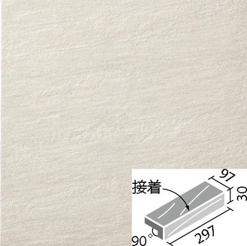 外装床タイル ストーンエッジ2 300x100mm角垂れ付き段鼻(接着) IPF-301/SEN-1