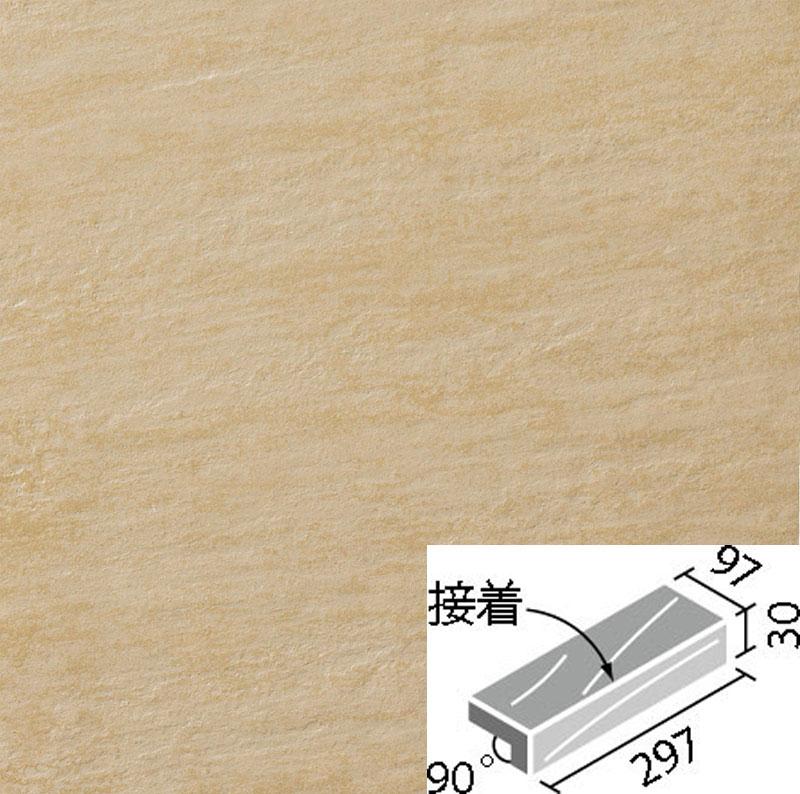 外装床タイル ストーンエッジ2 300x100mm角垂れ付き段鼻(接着) IPF-301/SEN-3