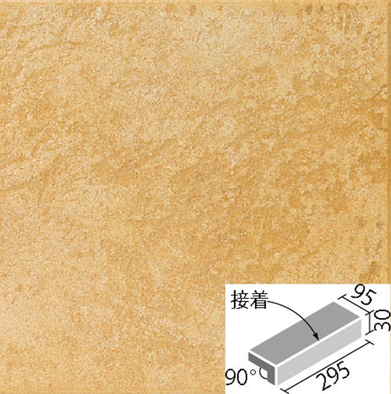 LIXIL(INAX) 外装床タイル サンベネゼ 300x100mm角垂れ付き段鼻(接着) IPS-301S/SB-14
