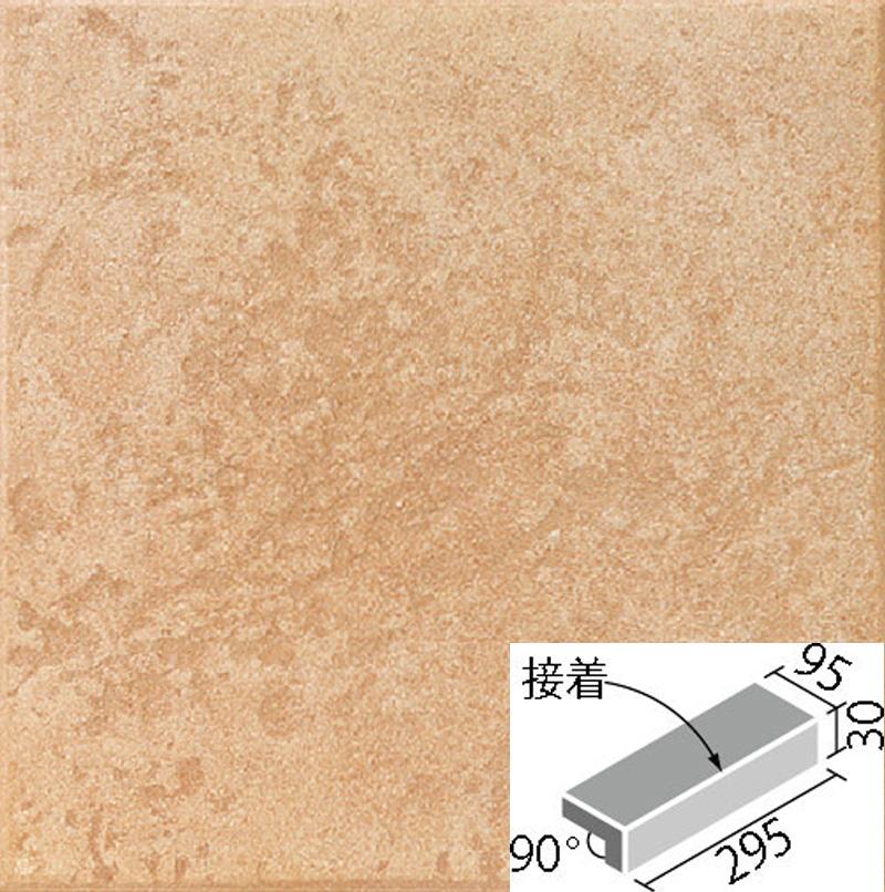 LIXIL(INAX) 外装床タイル サンベネゼ 300x100mm角垂れ付き段鼻(接着) IPS-301S/SB-15