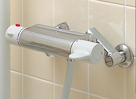シャワー水栓 サーモスタット付シャワー水栓 本体 BF-M245T-D-PU