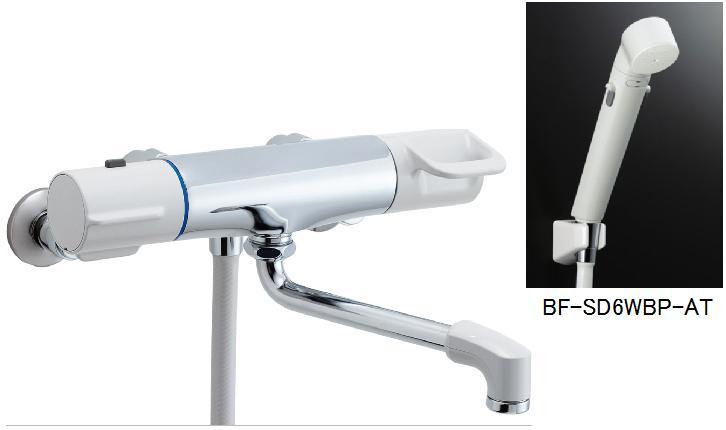 サーモスタット付シャワーバス水栓 エコフルススイッチシャワー付 BF-HE145TSDW