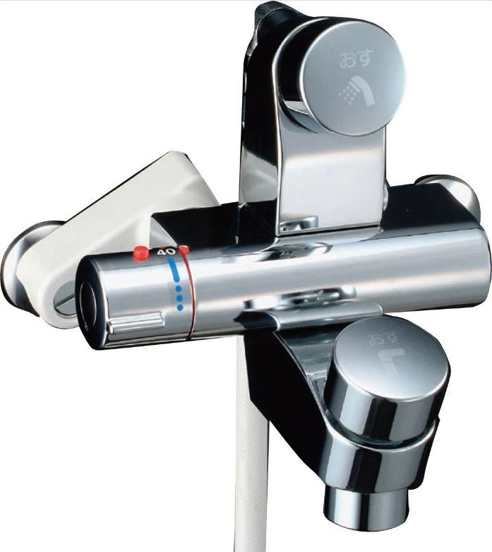 LIXIL(INAX) シャワーバス水栓 セルフストップ付洗い場専用 サーモスタットシャワーバス水栓 BF-2142TSD