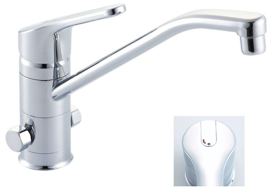 シングルレバー混合水栓 LIXIL シングルレバー混合水栓(分岐口付) SF-HB420SYXB