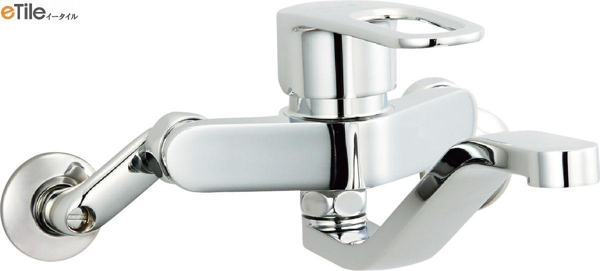 LIXIL【INAX】クロマーレS(エコハンドル)シングルレバー混合水栓SF-WM436SY