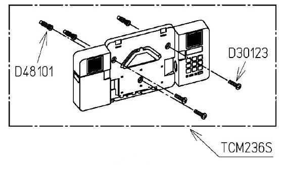 TOTO サウンドリモコン組品 CF4450E用サウンドリモコン組品 TCM236S