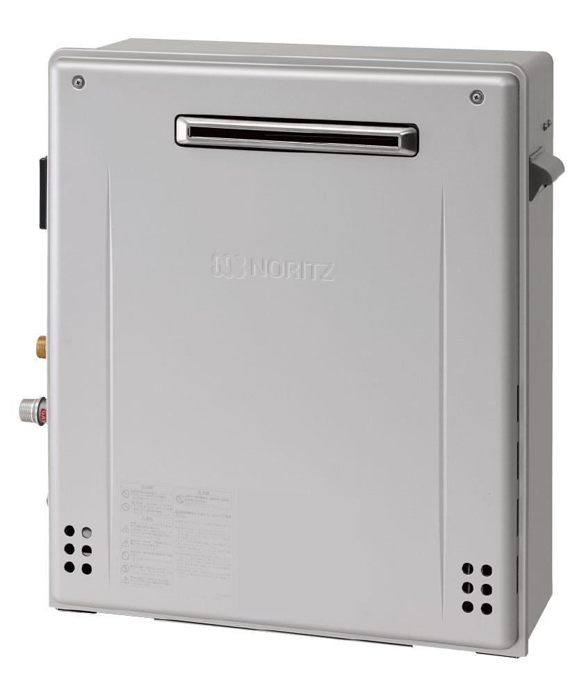 ノーリツ ガス給湯器 ガスふろ給湯器 エコジョーズ シンプル 24号 隣接設置形 オート ユコアGRQ 接続口径:20A リモコン別売 都市ガス GRQ-C2462SAX- BL-20A