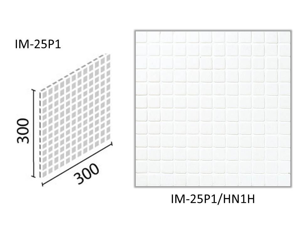 LIXIL(INAX) インテリアモザイク ハーニング 25mm角ネット張り IM-25P1/HN1H