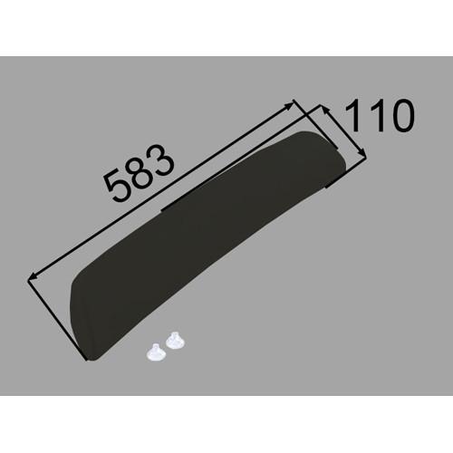 ヘッドレスト YCH-9A/K ブラック [新品]