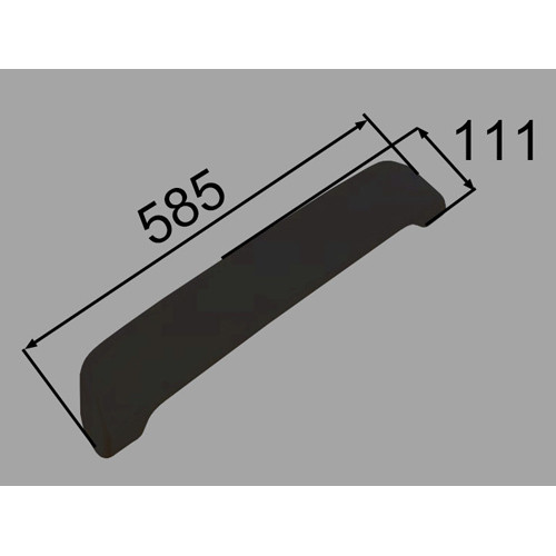 ヘッドレスト YCH-9B/K ブラック [新品]