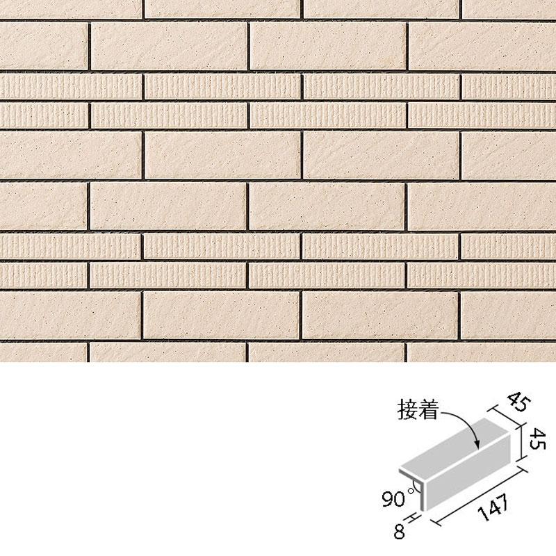 HALALLシリーズ セラヴィオ D(石面・縦筋面ミックス) 90°屏風曲(接着) HAL-355/90-15/CDT-3